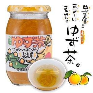 高知県産ゆず使用。 ごっくん馬路村で有名な馬路村で作られました。 ゆず茶