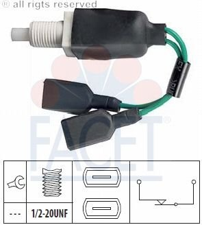 Facet 7.1059 Interruptor luces freno