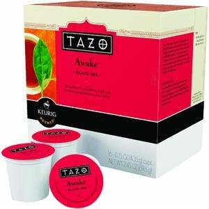 Keurig K-Cup Tazo Awake Black Tea,16-Pack