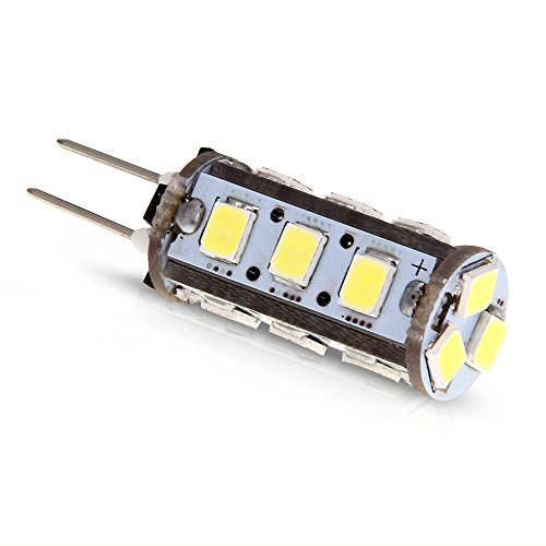 G4 15LED SMD2835 1,5W DC12V Weiß Lampe Leuchte Birne Licht Leuchtmittel 105LM