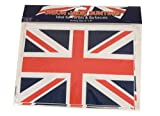 """#6: Bunting Plastic Union Jack / British Flag Design 30' Length With 12 12""""x8"""" Flags"""