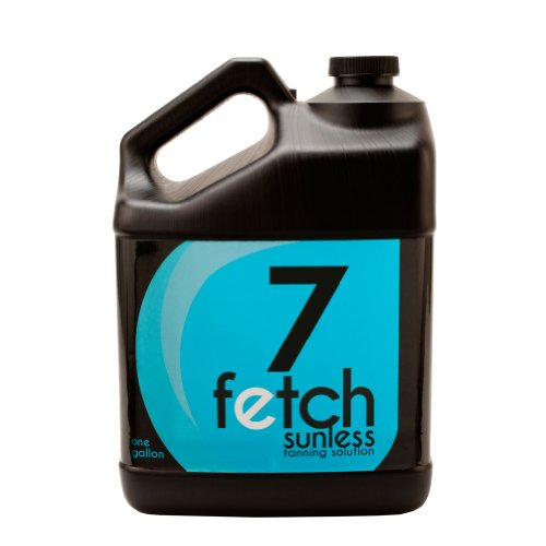 Fetch Sunless Spray Indoor Tanning Airbrush Solution 7% Dha Dark Formula Gallon front-492470