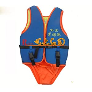 Kids Swimsuit Life Jackets Good Helper for Swimming Learner Free Size