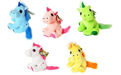 THE-MAGIC-UNICORNS-Plush-Toy-Unicorn-White1130cm-Very-good-quality-Different-models-to-collect