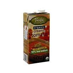 Pacific Natural Foods Creamy Tomato, Low Sodium 32 oz (Pack Of 12)