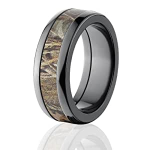 realtree max 4 camo rings camo bands camouflage wedding