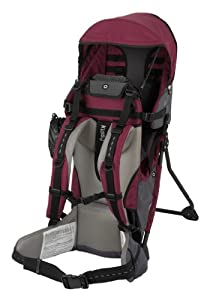 Kiddy Baby Back Carrier Adventure Pack, Burgandy by Kiddy