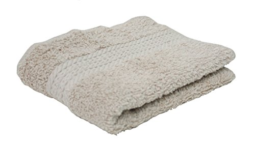 J & M Home Fashions 8608 Linen Provence Washcloth (Pack of 144)