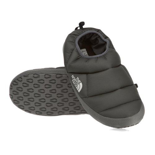 Cheap The North Face Nuptse Tent Mule III Slippers – Graphite Grey (B009ZRYKTQ)