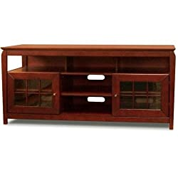 TechCraft BAY6028 60-Inch Wide Flat Panel TV Credenza - Walnut