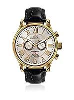 Hindenberg Reloj automático Man Cuero / Oro / Plata 46 mm