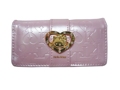 Hello Kitty heart brooch HK14-6 key case (Pink)