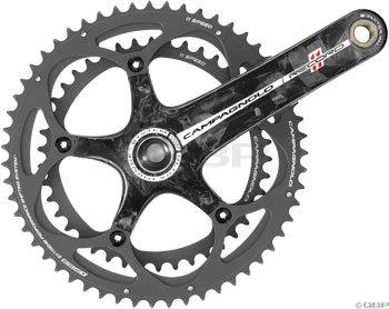 Campagnolo Super Record-UT Ti TT Crankset – 11 Speed, 175 x 54-42T (FC12-SR524CT)