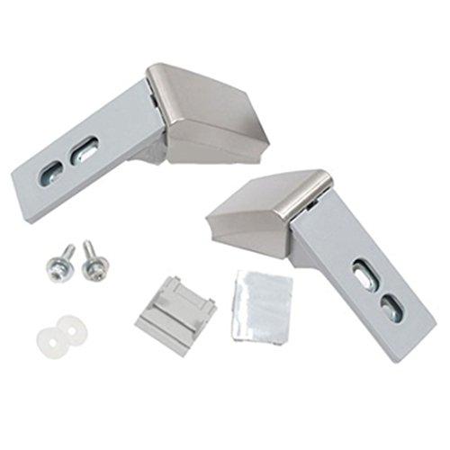 Liebherr - Kit di cerniere di ricambio maniglia per porta frigorifero