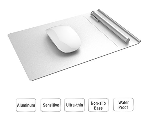 Vogek Aluminum Mouse Pad with Separable Non-Slip Base (Aluminum Mouse Pad compare prices)