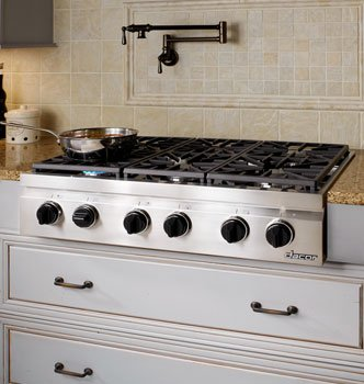 Dacor Millennia 36 In. Stainless Steel Gas Rangetop - DRT366SNG
