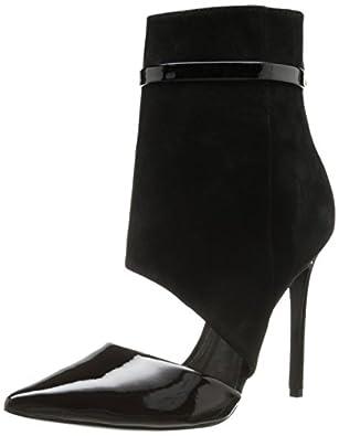 Schutz Women's Gerogeane Dress Pump,Black,7 M US