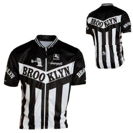 Buy Low Price Giordana 2013 Men's Brooklyn Team Short Sleeve Cycling Jersey – Blue – GI-SSJY-TEAM-BROK (B000BSHOZ0)