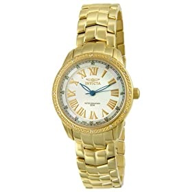 Invicta Women's Wildflower Diamond Gold-Tone Watch #5059