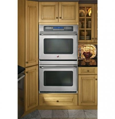 "Ge Ct959Stss Cafe 30"" Stainless Steel Electric Double Wall Oven - Convection"