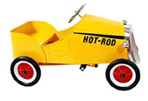 Enertec Hot Rod Pedal Car - Yellow