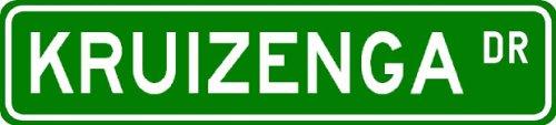 KRUIZENGA Street Sign ~ Personalized Family Lastname Sign ~ Gameroom, Basement, Garage Sign Novelty** METAL ALUMINUM - Buy KRUIZENGA Street Sign ~ Personalized Family Lastname Sign ~ Gameroom, Basement, Garage Sign Novelty** METAL ALUMINUM - Purchase KRUIZENGA Street Sign ~ Personalized Family Lastname Sign ~ Gameroom, Basement, Garage Sign Novelty** METAL ALUMINUM (The Lizton Sign Shop, Home & Garden,Categories,Patio Lawn & Garden,Outdoor Decor)