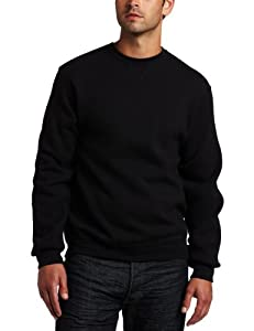Russell Athletic Men's Dri Power Fleece Crewneck Sweatshirt, Black, Large