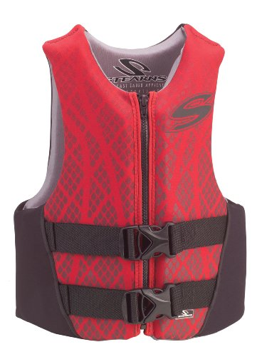 Stearns Youth Hydroprene Life Jacket,Red/Black