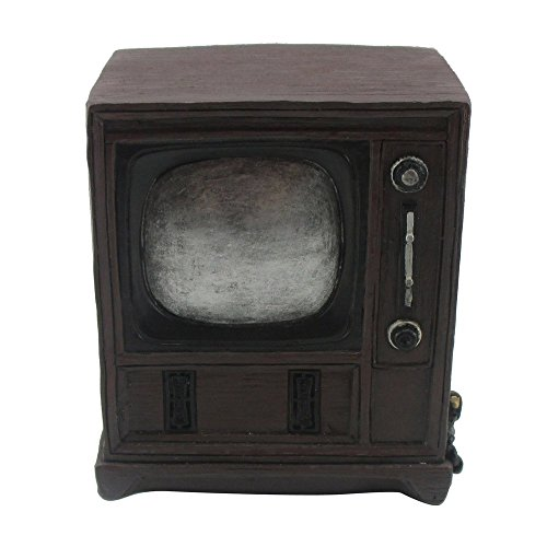 television antique style money piggy bank adult kids toy. Black Bedroom Furniture Sets. Home Design Ideas