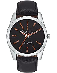 Ferry Rozer Black Dial Analog Watch For Men & Boys - FR1057