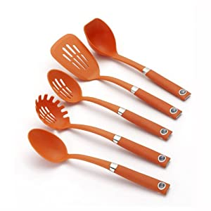 Rachael Ray Tools 5-Piece Soft-Grip Tool Set