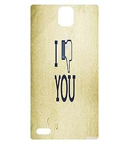 BuyFeb Printed Back Case Cover XOLO Q1010i