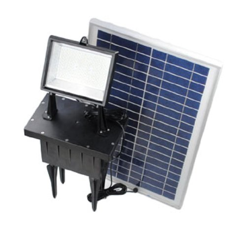 156 Led Solar Powered Outdoor Ground Mount Flood Light