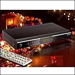 PrimaSound Digitaler HD-Satelliten-Receiver, incl. USB-Mediaplayer&Recorder, von Auvisio