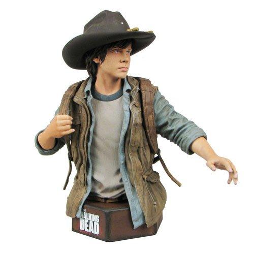 The Walking Dead Carl Grimes Mini Bust (Walking Dead Mini Bust compare prices)