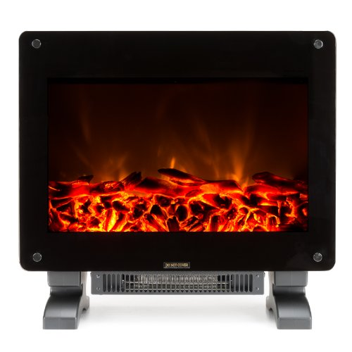 Marino Electric Fireplace - Portable Electric Fireplace with Adjustable 1400W Space Heater - NEW 2015 Model image