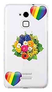 WOW Transparent Printed Back Cover Case For Coolpad Note 3