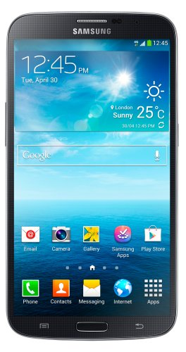 "Samsung Galaxy Mega I9205 Unlocked Phone Large Screen 6.3"" International Version No Warranty Black"