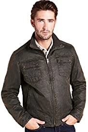 North Coast Mock Leather Jacket