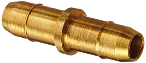 "Eaton Weatherhead 1062X4 Brass Ca360 Mini-Barb Brass Fitting, Union, 1/4"" Tube Od front-569609"