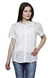 Vastrasutra Women's Printed Casual, Formal Shirt