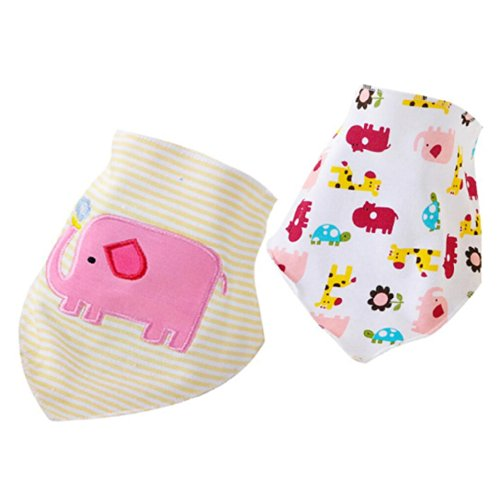 [Baby Tree]Multipurpose ,Baby /Child Care, Triangular Scarf , Bibs , Handkerchief. Sj14
