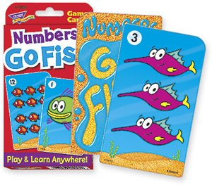 Numbers Go Fish Challenge Cards - 1