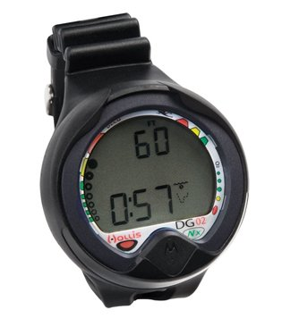 New Hollis DG02 Digital Bottom Timer or Nitrox Scuba Diving Computer