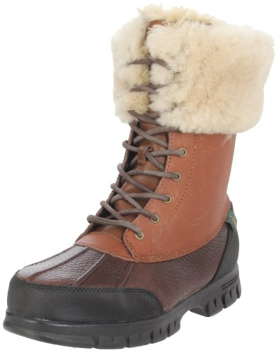 New Ralph Lauren Polo Women S Snow Boots Fur Shoes Coffee Pictures To Pin