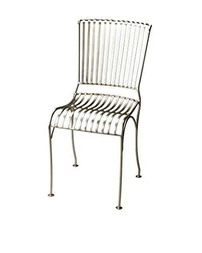 Butler Specialty Company Side Chair, Brushed Nickel