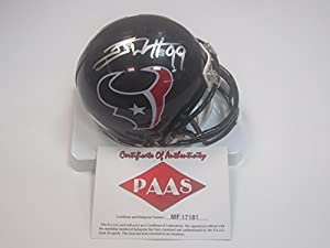 JJ Watt Houston Texans Signed Autographed Mini Helmet Authentic Certified Coa