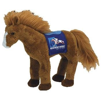TY Beanie Baby - DERBY 134 the Kentucky Derby Horse (Blue Version)