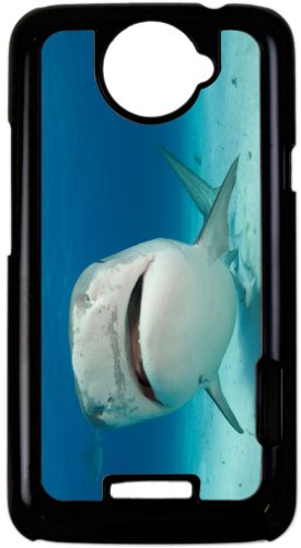 Rikki Knighttm Tiger Shark Nose Up - Black Htc One X Case Cover For Htc One X