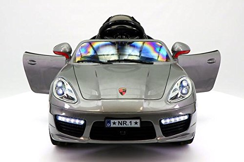 PORSCHE BOXSTER STYLE 12V KIDS ELECTRIC RIDE-ON CAR WITH R/C PARENTAL REMOTE BATTERY POWERED TOY. NEW 2017 COLLECTION.